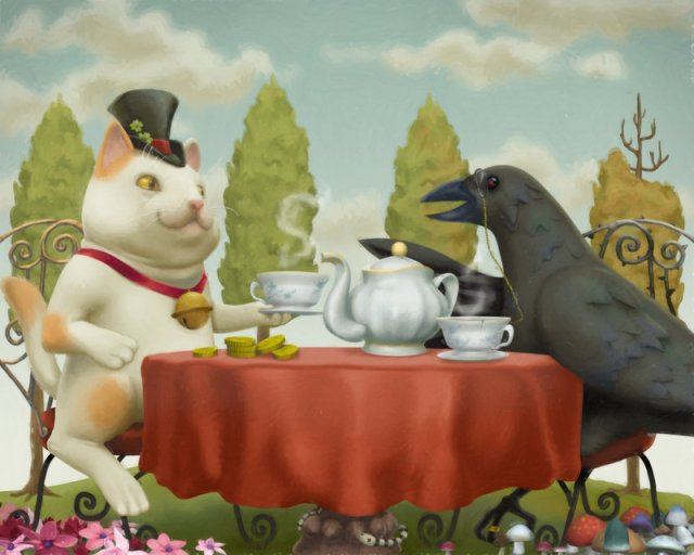 """Talks Over Tea"" by Kichigai"