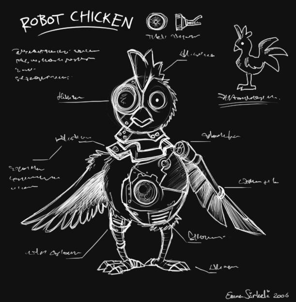 """""""Robot Chicken"""" by DarkJak - deviantART.com"""